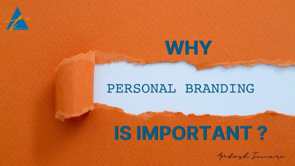 Ambesh personal branding